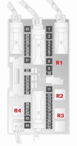 Opel-astra-h-skrzynka bezpieczników-b 2