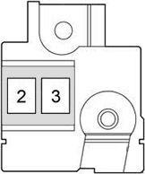 bezpieczniki akumulatora yaris iii